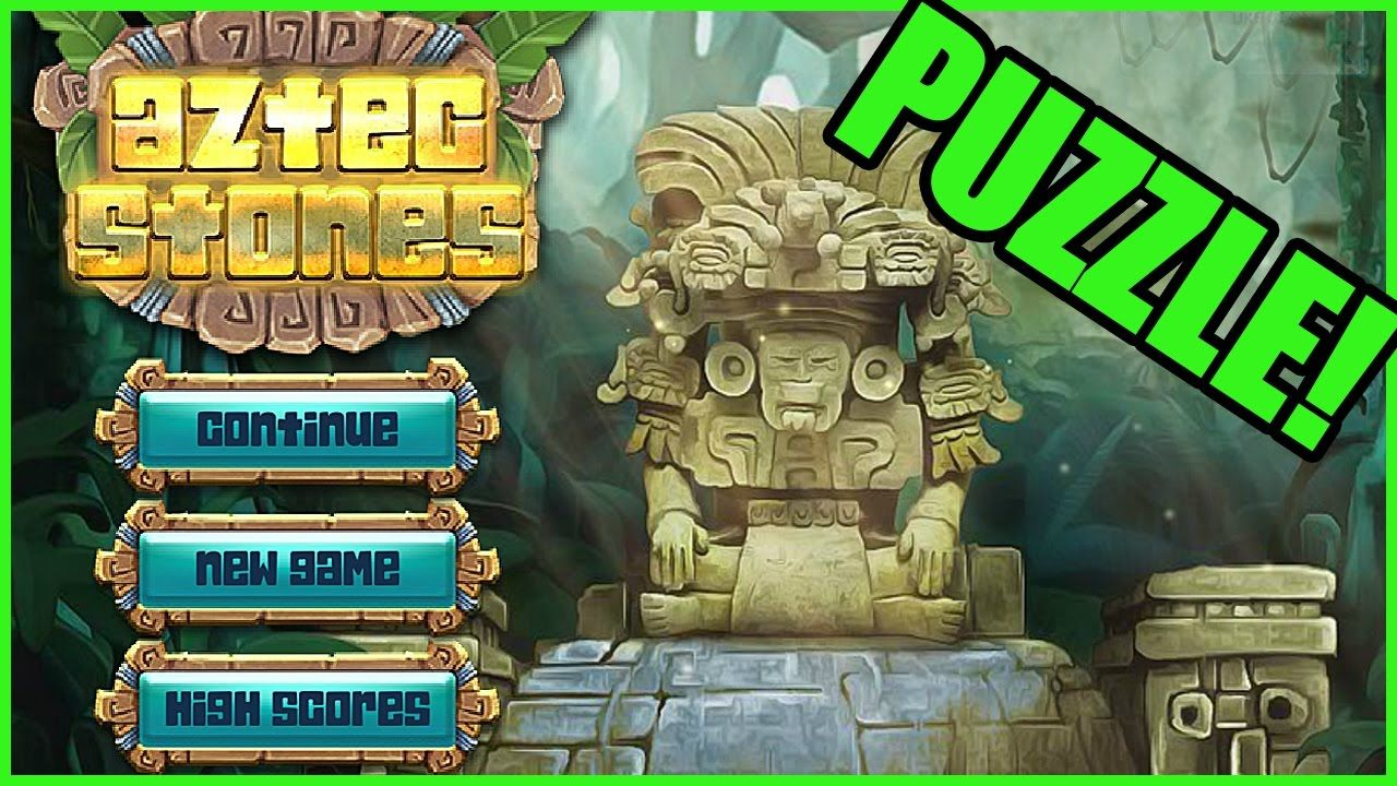 """VIDEO Puzzle Matching Game """"Aztec Stones"""" (Free Game"""