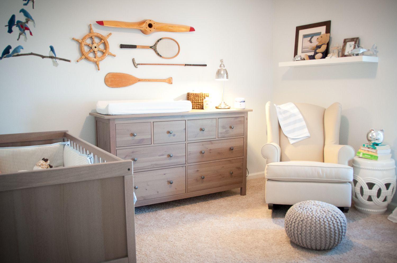 Sophisticated Modern Nautical Nursery: Inspiring Sophisticated Nursery Room Ideas : Charming