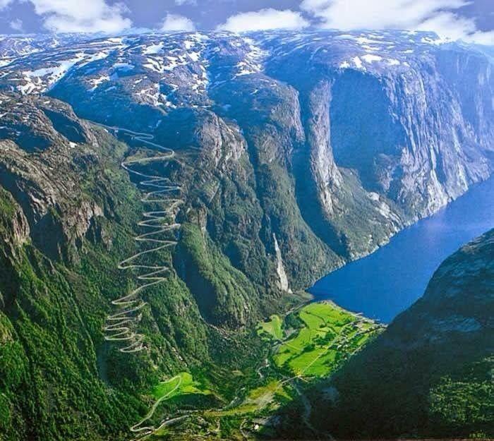 Lysebotn - Western Norway