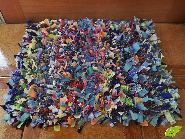 Limpia pies mini alfombra ideas para and tela - Telas para alfombras ...