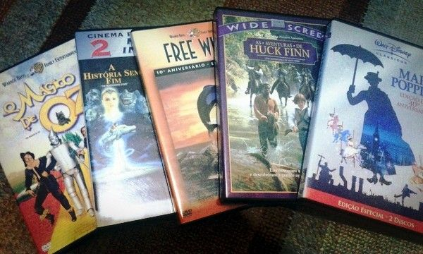 filmes clássicos infantis. mary poppins, o mágico de oz, a história sem fim, free willy, as aventuras de huck finn