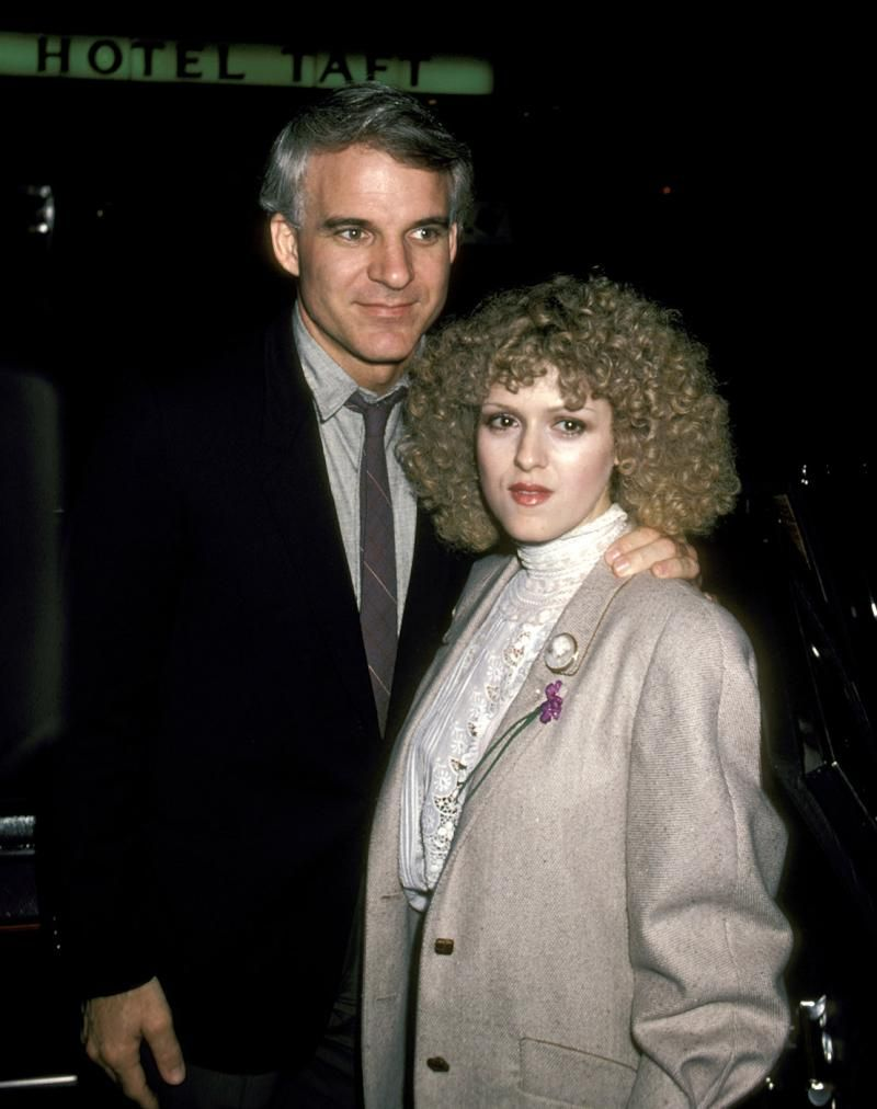 Image result for bernadette peters and steve martin