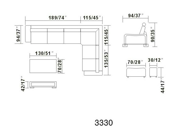 Sectional Sofa Dimension Sectional Sofa Living Room Sofa Design