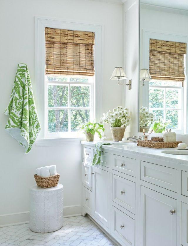 Sarah Bartholomew white classic bathroom with traditional design