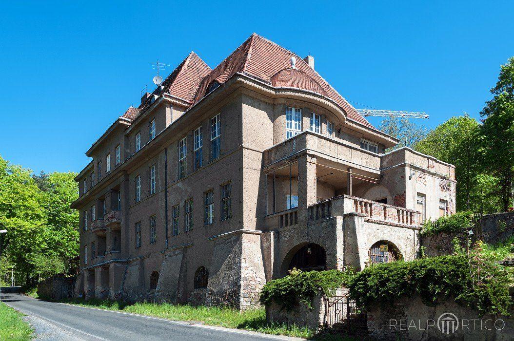 Former Sanatorium In Coswig Meissen District Villen Immobilien Kaufen Immobilien