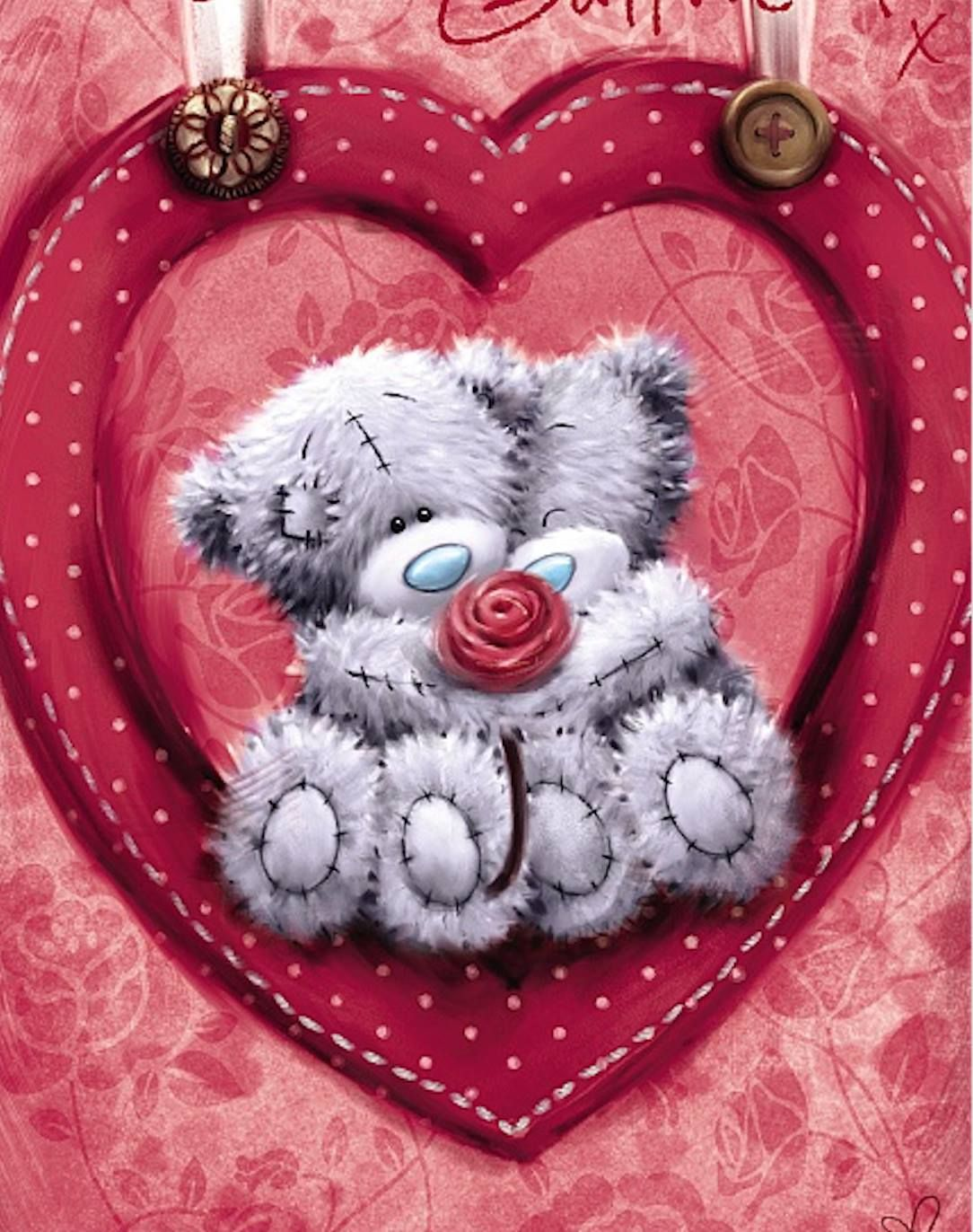 "ME TO YOU Ours Tatty Teddy 10/"" magnifique petite amie Coeur Cadeau St-Valentin"