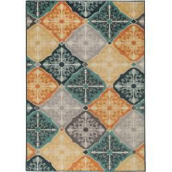 benuta Plus In- & Outdoor-Teppich Summer Multicolor 133x190 cm - für Balkon, Terrasse & Gartenbenuta