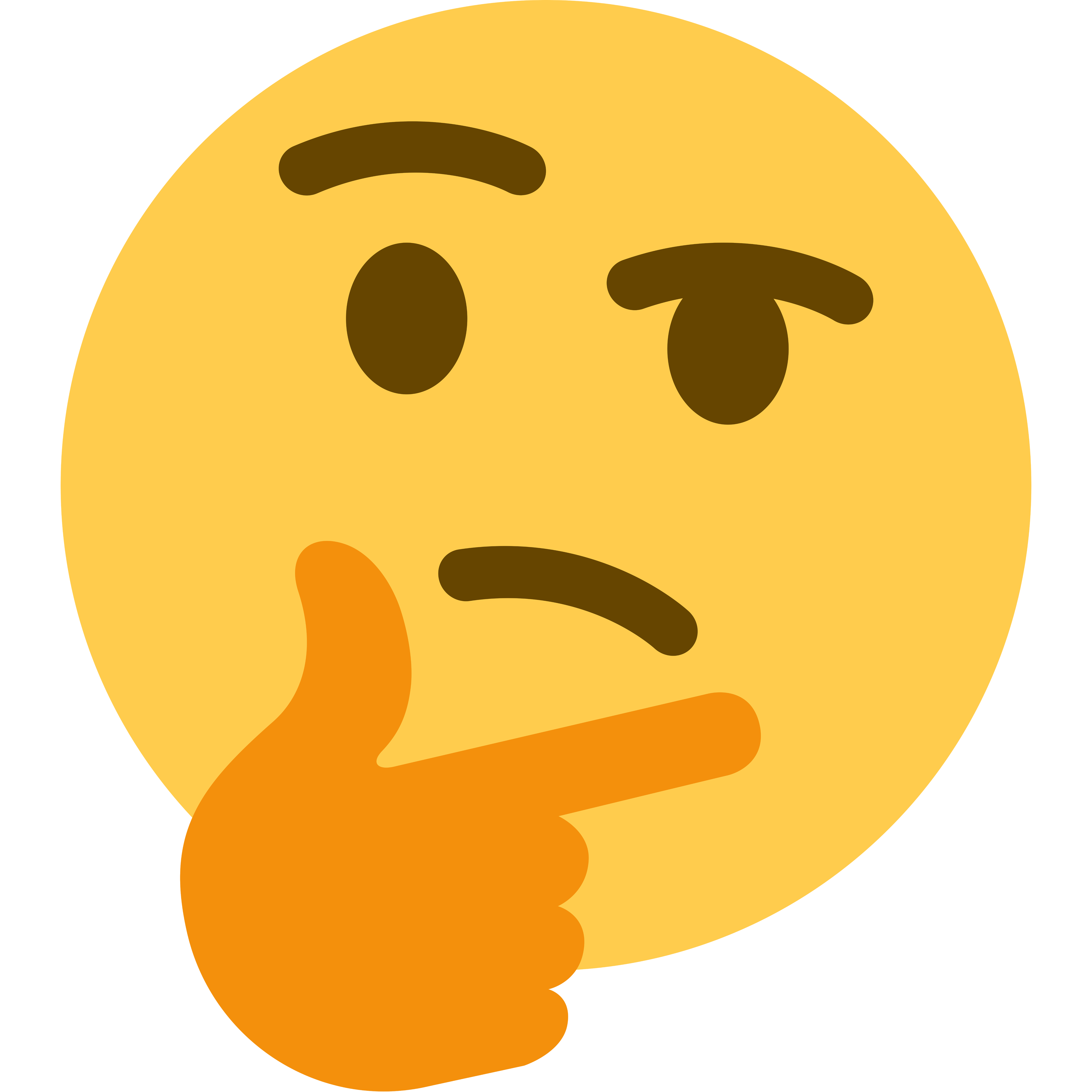 Super High Resolution Transparent Template Of The Twitter Variant Thinking Face Emoji Emoji Meme Emoji Meme Faces