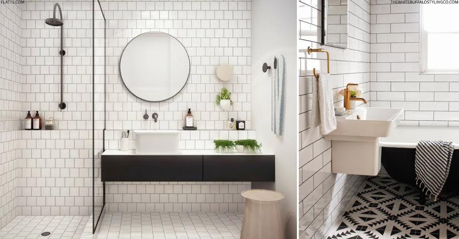 metro tiles bathroom inspirationbathroom ideasmetro - Bathroom Ideas Metro Tiles