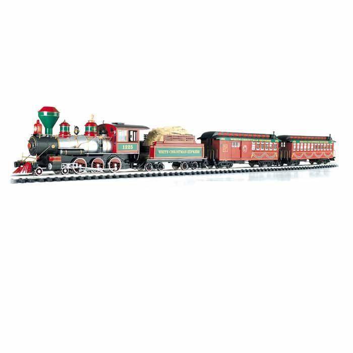 White Christmas Express Electric Train Set Scale White Christmas Express Large Scale G Scale 1 22 5 Christmas Express Christmas Train Set Model Trains