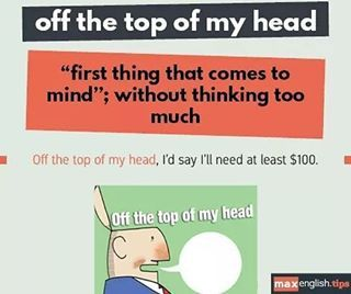 OFF THE TOP OF MY HEAD PDF DOWNLOAD
