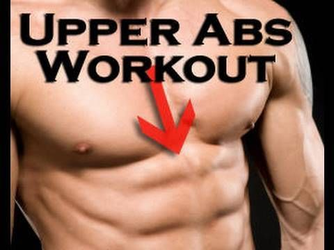 How To Get Six Pack Abs Fast, UPPER Abs Workout