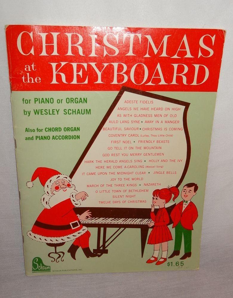 Schaum Popular Christmas Album (Easy Piano)