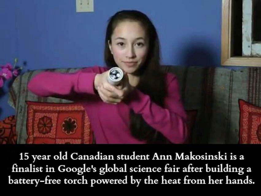 Ann M.You go girl!
