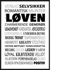 Loven Plakat Tekstcollage Med Stikord Inspirerende Citater Sjove Citater Motiverende Plakater