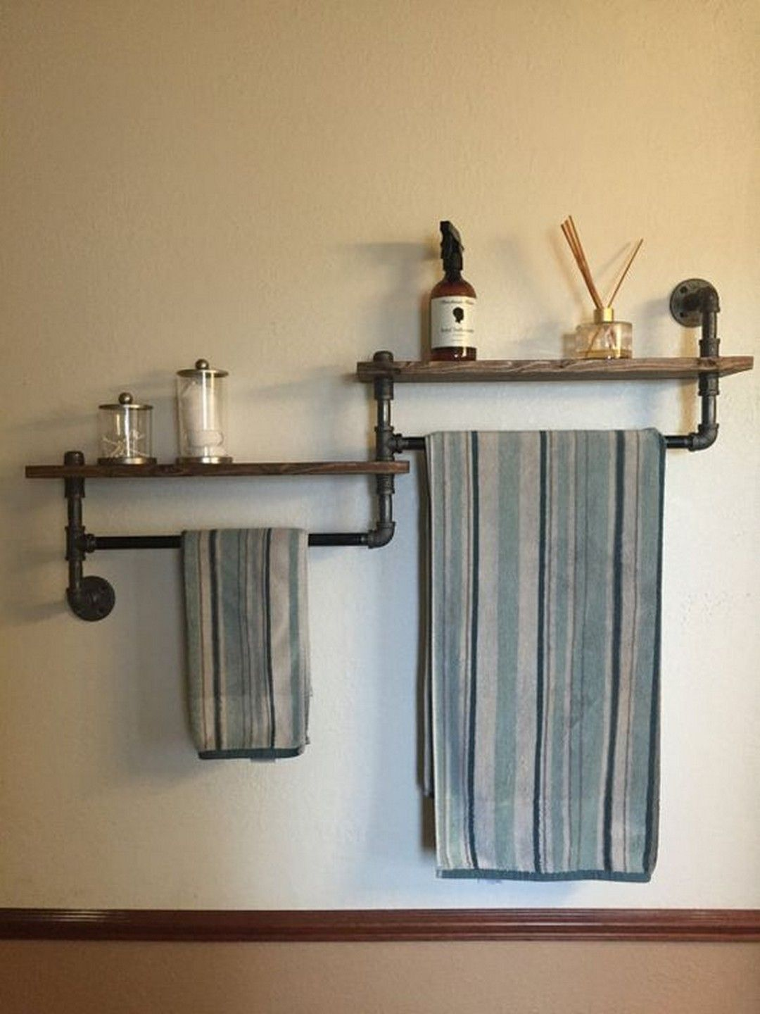Towel Rack Decoration Ideas to Match your