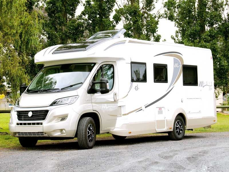 It was no surprise when I called on Shane Smale of Walkabout Sales, New Zealand's sole agent for Ci Motorhomes, to find the recently released Magis 82p I was there to review was the 2016 model. In Europe, next year's models are released around the end of August – in time for the end-of-summer motorhome shows, and they show up in New Zealand from October onwards.