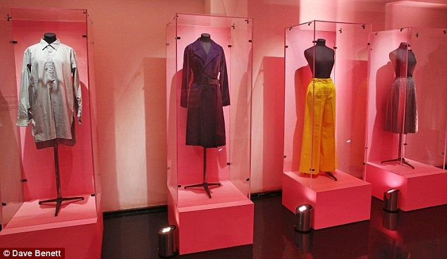 Garments taken from the Marks & Spencer archive that helped influence Alexa's new line...