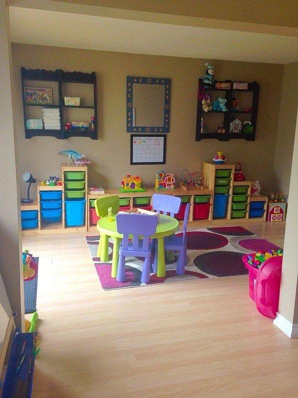 57 Looks Fun Decorating Kids Room Ideas 44 Kidsroom Kidsroomsdecor Kidsroomideas Playroom Con Imágenes Decoraciones De Guardería Sala De Juegos Para Niños Sala De Niños