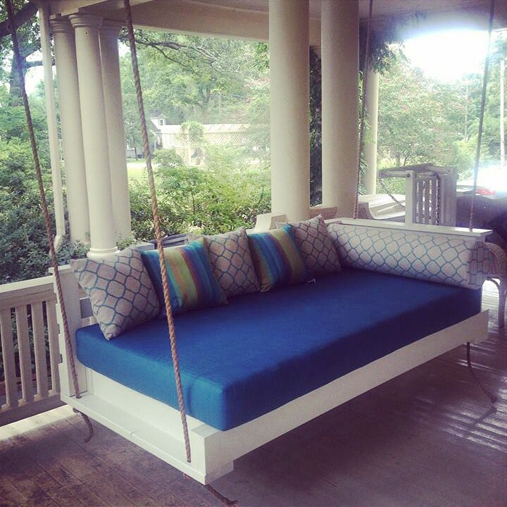 The Sullivanu0027s Island Swing Bed by Lowcountry
