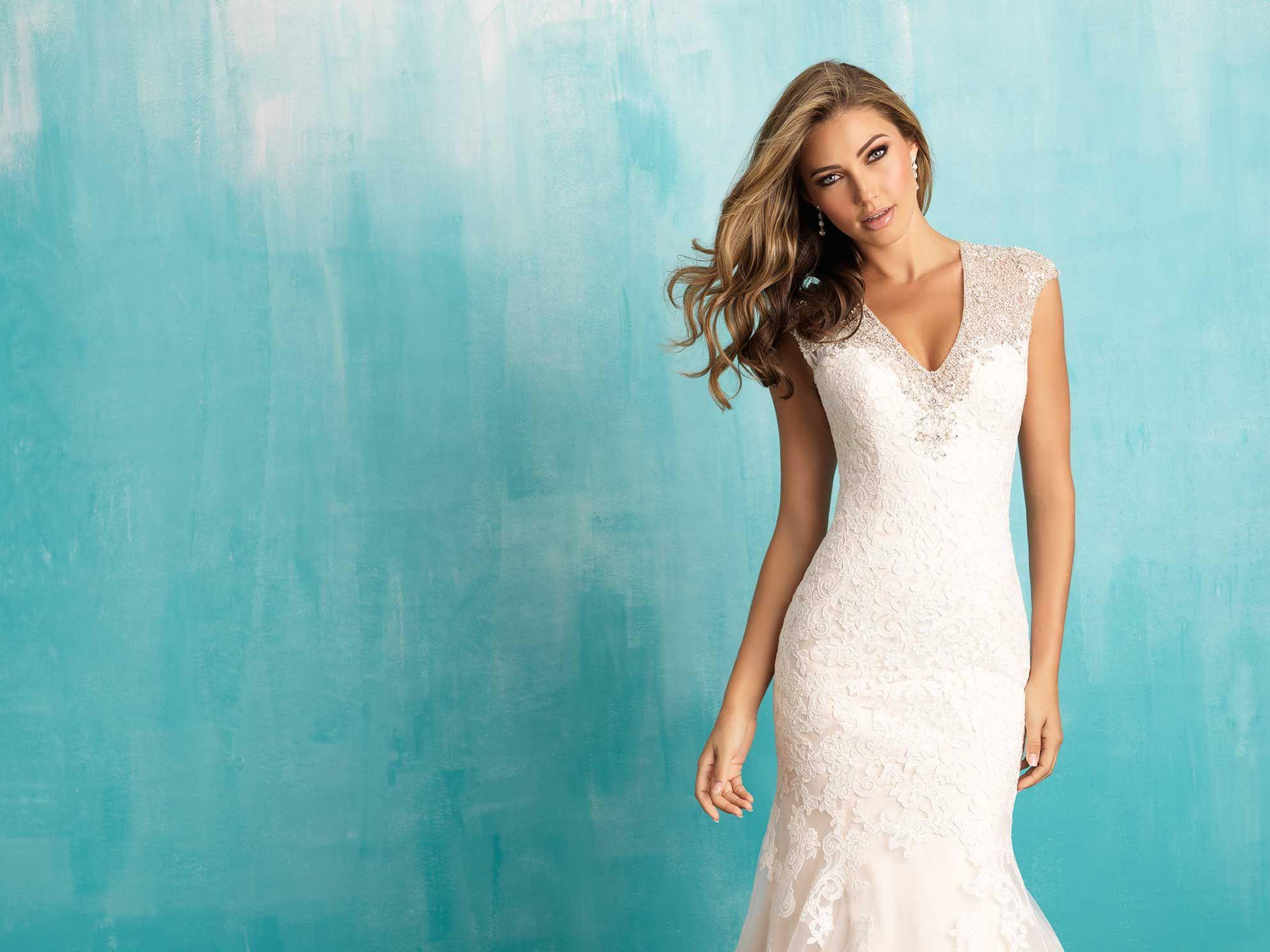 Allure Bridals: Style: 9307   A L L U R E BRIDALS   Pinterest ...