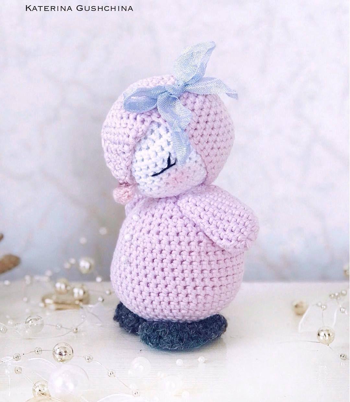 Pinguin Amigurumi häkeln #crochetelements