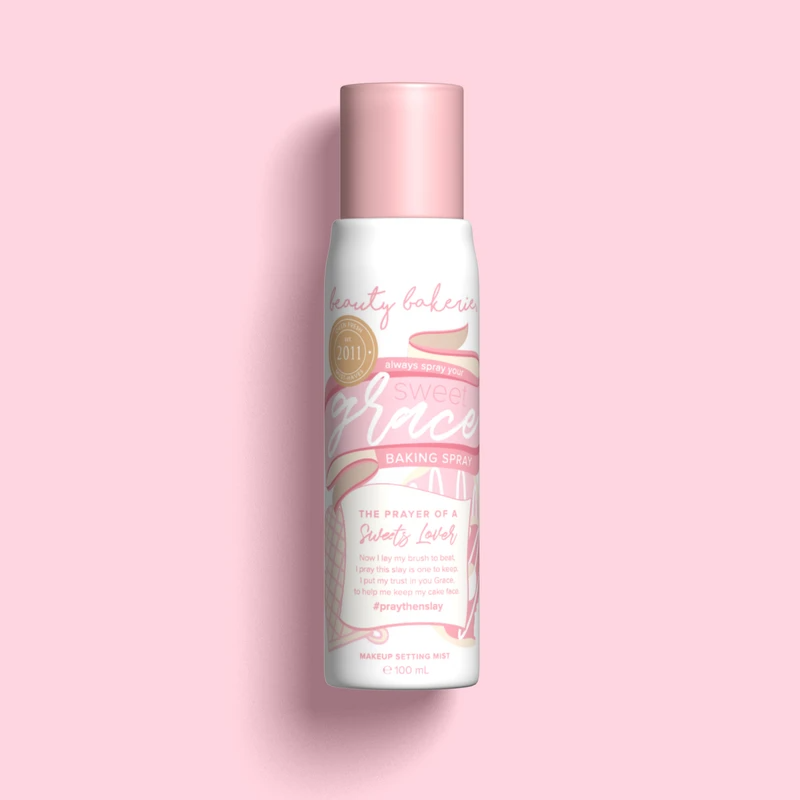 Spray Your Grace Baking Spray (Makeup Setting Mist) in