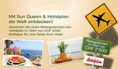 Gewinne einen Gutschein von Hotelplan im Wert von CHF 2'000.-