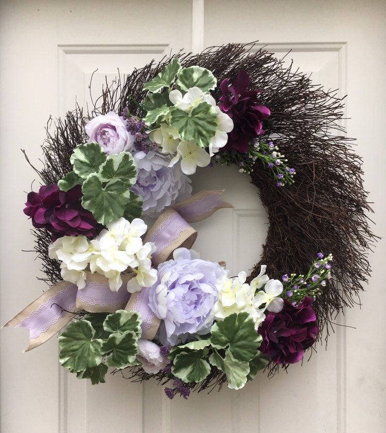 Purple and white flower wreath - double door wreath - floral home decor - cottage chic wreath - purple twig wreath - flower wall wreath #doubledoorwreaths Purple and white flower wreath - double door wreath - floral home decor - cottage chic wreath - purple twig wreath - flower wall wreath #doubledoorwreaths Purple and white flower wreath - double door wreath - floral home decor - cottage chic wreath - purple twig wreath - flower wall wreath #doubledoorwreaths Purple and white flower wreath - do #doubledoorwreaths