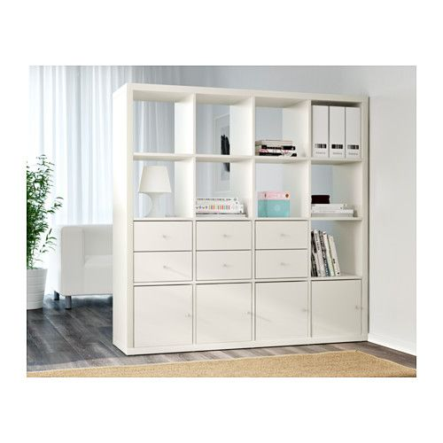 KALLAX Shelf unit, white | Kallax shelving unit, Kallax ...