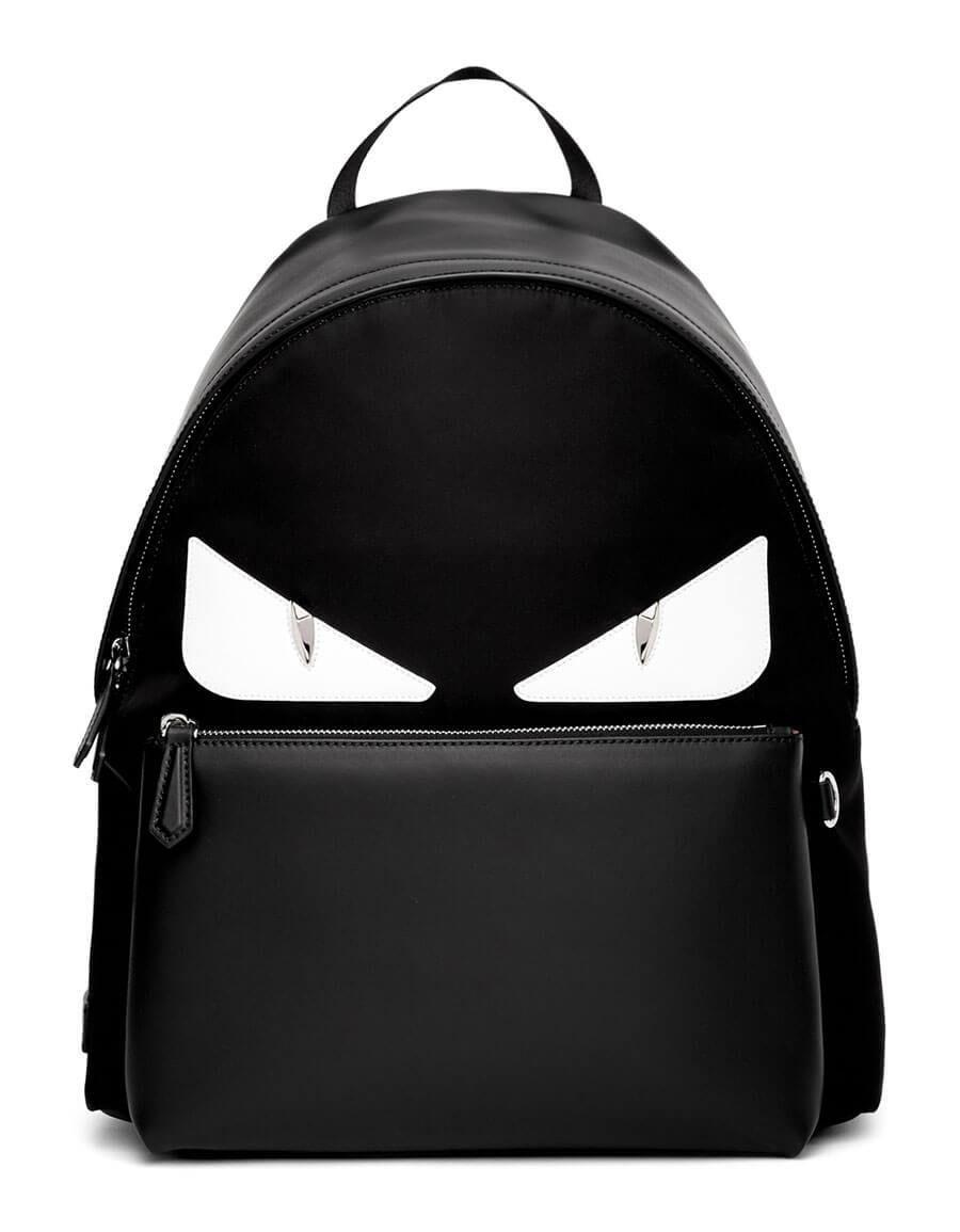 c34e7cbcc h3>FENDI</h3> Black & White Bag Bugs Backpack in 2019 | Men Bags ...