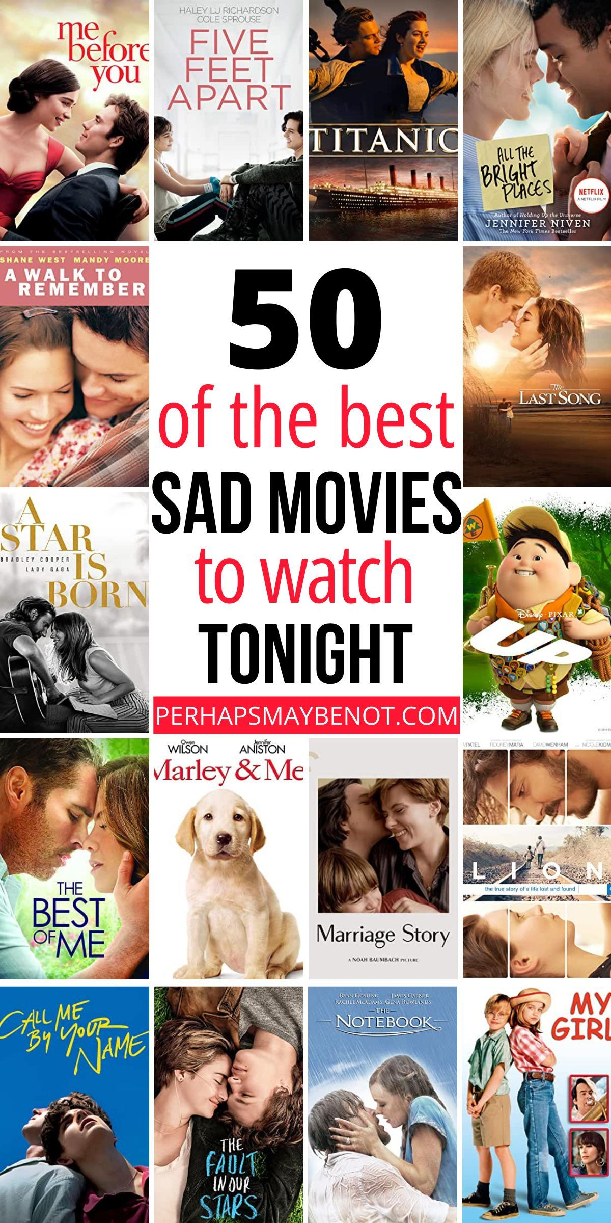 50 Sad Movies to Watch That Will Make You Cry - Perhaps, Maybe Not