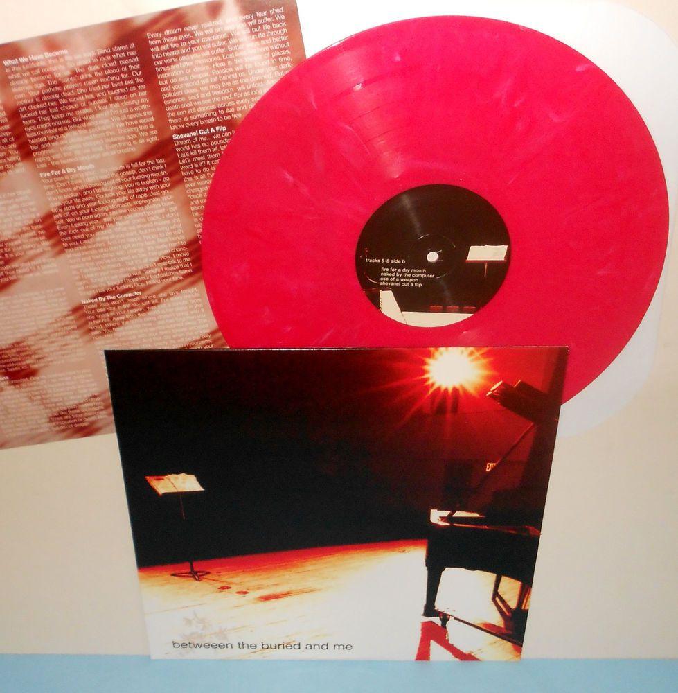 Between The Buried And Me S T Misprint Lp Record Red Vinyl W Lyric Insert Btbam Powerprogressivemetal Vinyl Records Vinyl Records
