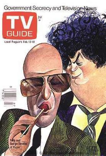 Kojak~ | TV Guide Covers | Tv guide, Tv land, Classic tv