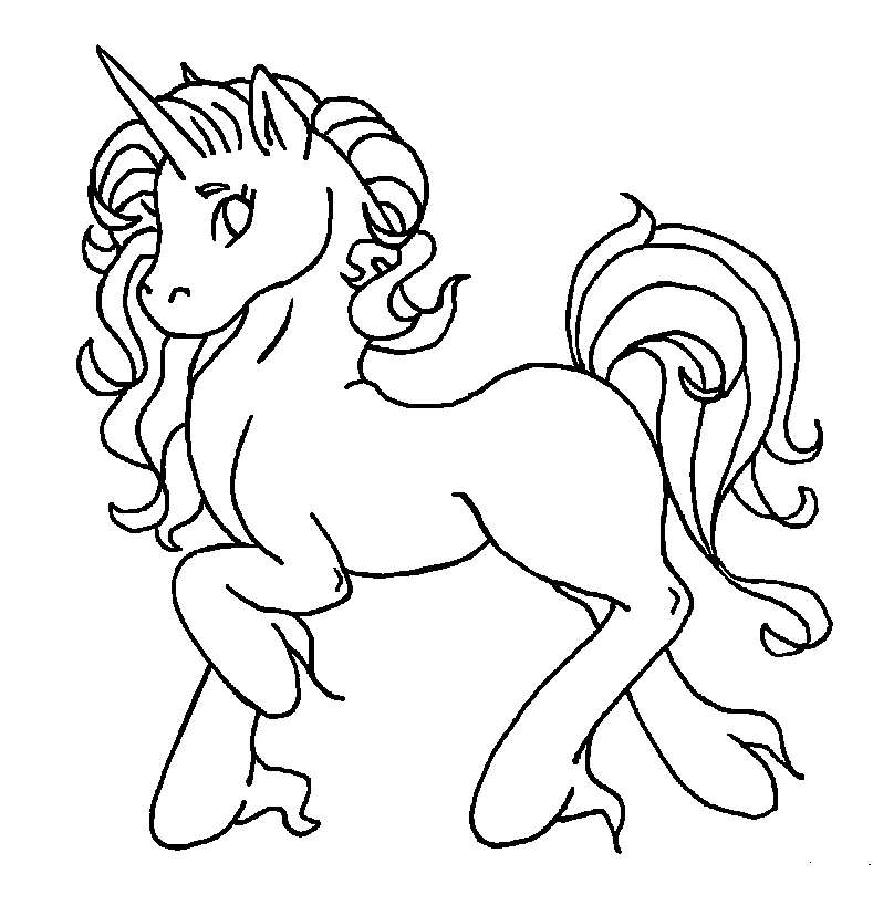 Winged Unicorn Coloring Pages Free Printable Coloring Pages