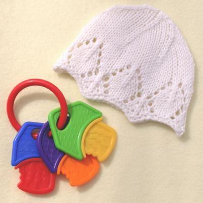 Snowflake baby hat : Sizes Preemie, Newborn, 6 months old baby