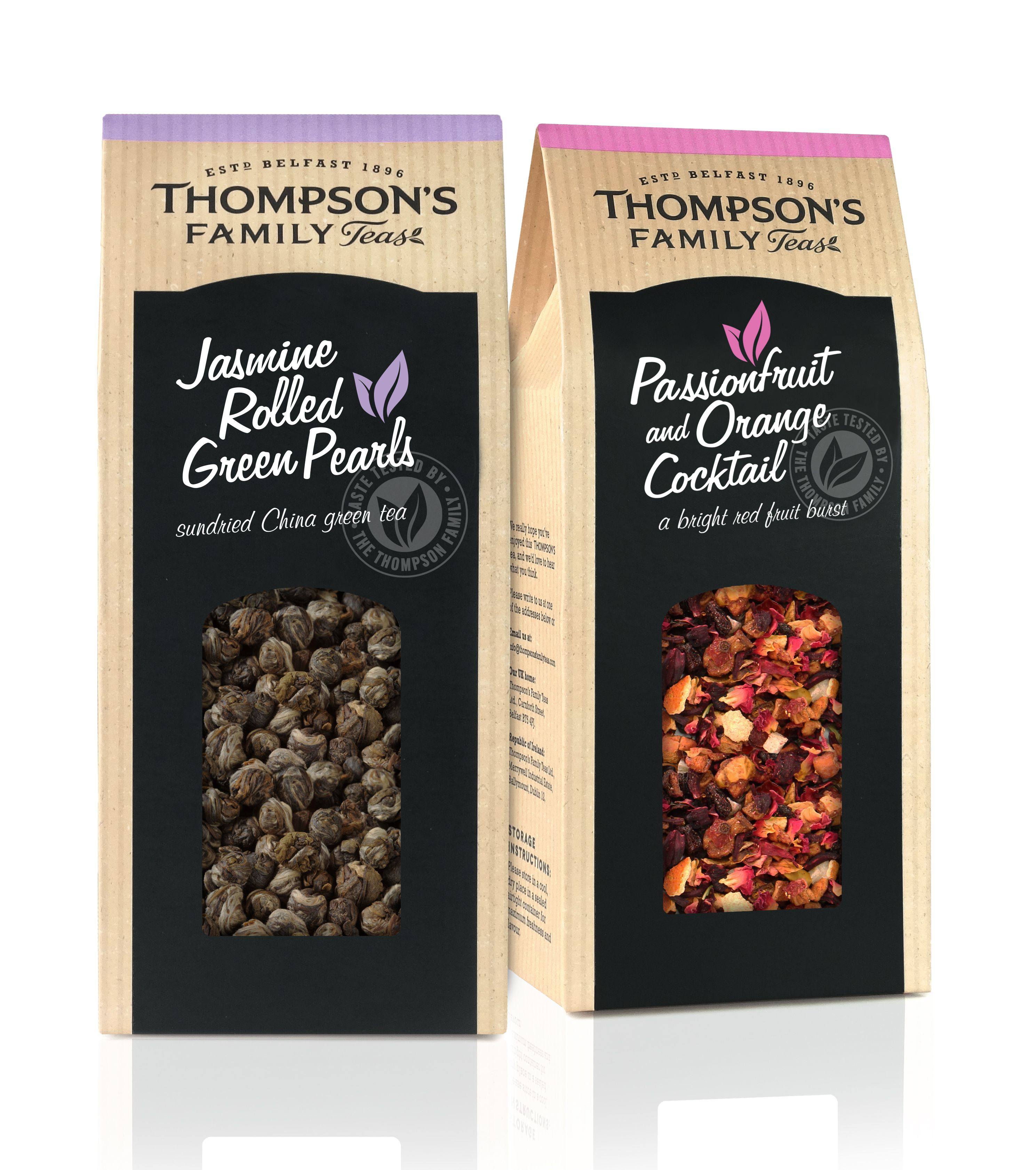 Thompson's Tea. Designed By BrandMe