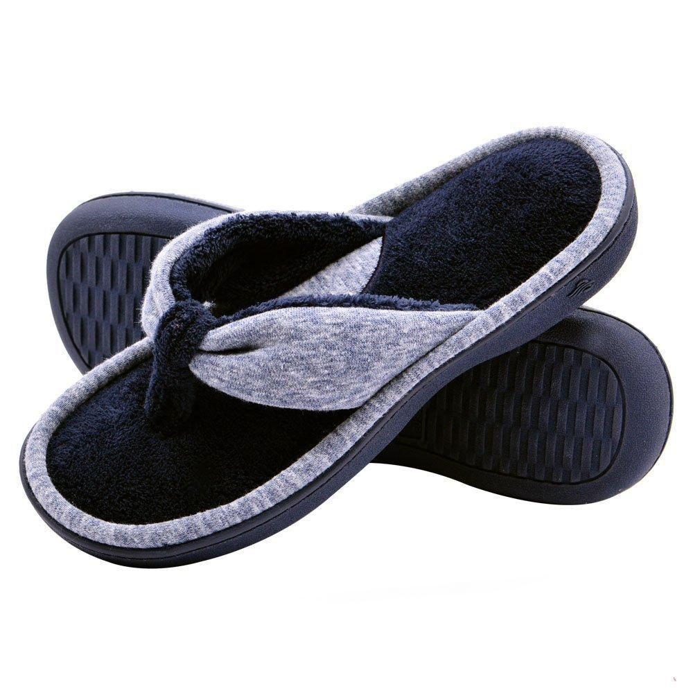 d39cf4376484 Wishcotton Women s Thong Slippers Adjustable Anti-skid Flip Flops ...