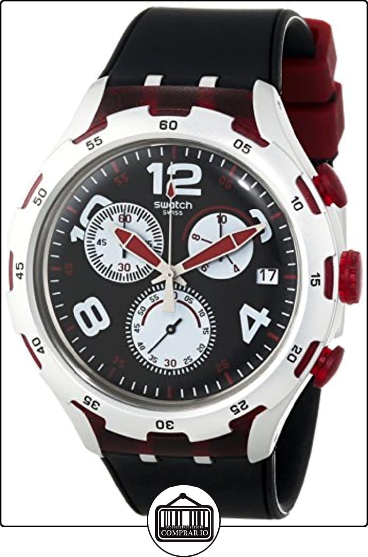 Swatch HombreSiliconaColor De Negro Reloj Yys4004 Pulsera 67byfgYv