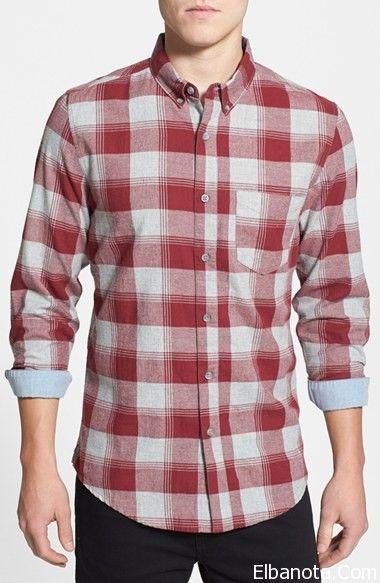 قمصان رجالى 2014 قمصان رجالى كاروهات قمصان رجالى كاجوال Men Casual Mens Tops Button Down Shirt