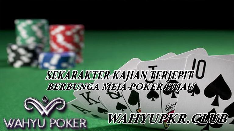 Meja Poker Hijau Dominoqq Poker Kartu Hijau