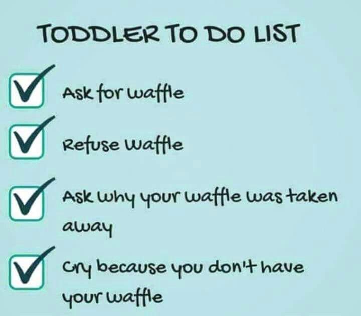 Toddler To Do List Motherhood Funny Mom Humor Mom Life Quotes