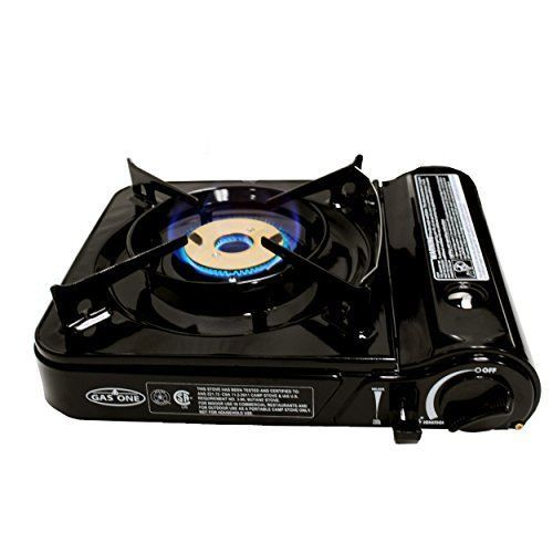Summer Outdoor Camping Cooking Portable Gas Stove Burner Flame Table Top  Kitchen #GasOne