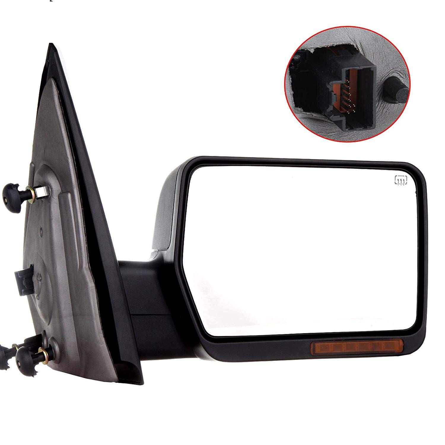 Towing Mirror For 2004 06 Ford F 150 Rear View Mirror Automotive Exterior Mirrors With Power Heated Front Led Signals Passenger Side Ford F150 Towing Mirror