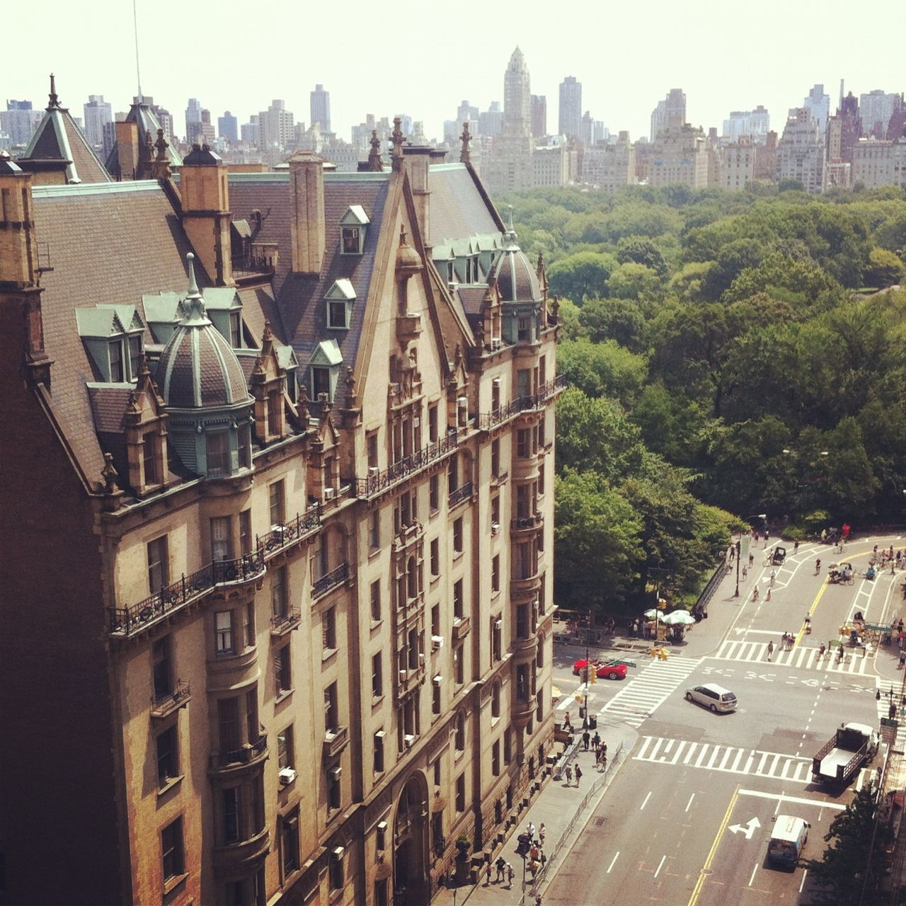Central Park Apartments New York: 72nd At Central Park -The Dakota (With Images)