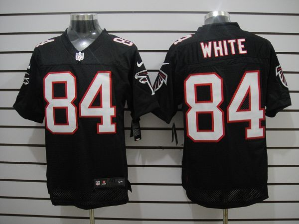 Wholesale White Black Roddy Elite Nike NFL Atlanta Falcons #84 Jersey ID:10058  supplier