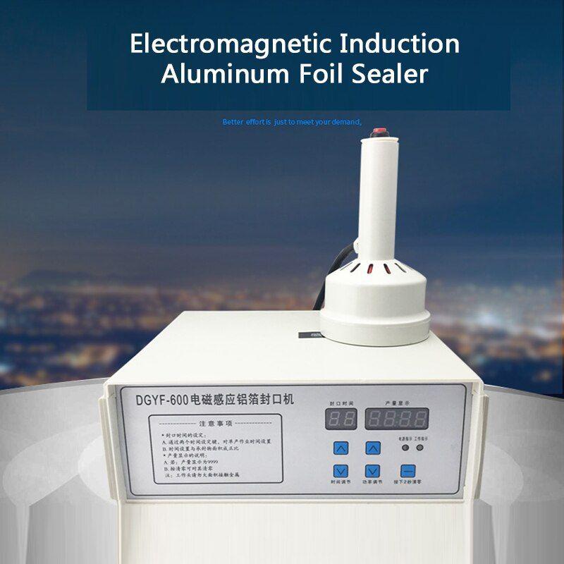 Buy 220v Hand Held Electromagnetic Induction Sealer Bottle Cap Sealing Machine Aluminum Foil Medical Plastic Capp Electromagnetic Induction Bottle Cap Sealer