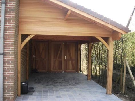 Houten carports - Carport - Aanbouw DIY Projects   Ideau0027s