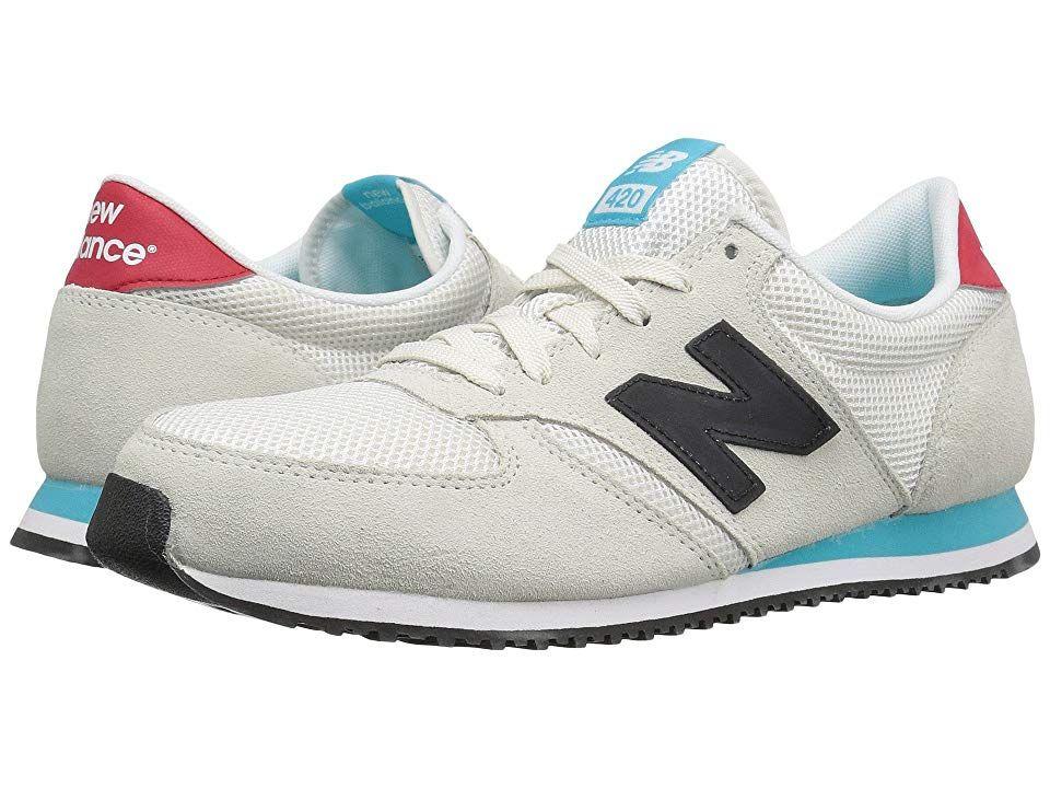 New Balance Classics U420v1 Light Grey Black Running Shoes