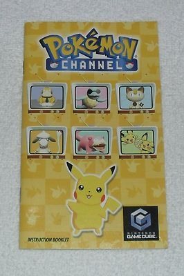 Pokemon Channel Instruction Booklet Manual Only For Nintendo Gamecube No Game Pokemon Channel Pokemon Gamecube